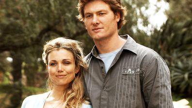 Tess (Bridie Carter) and Nick (Myles Pollard) McLeod's daughters