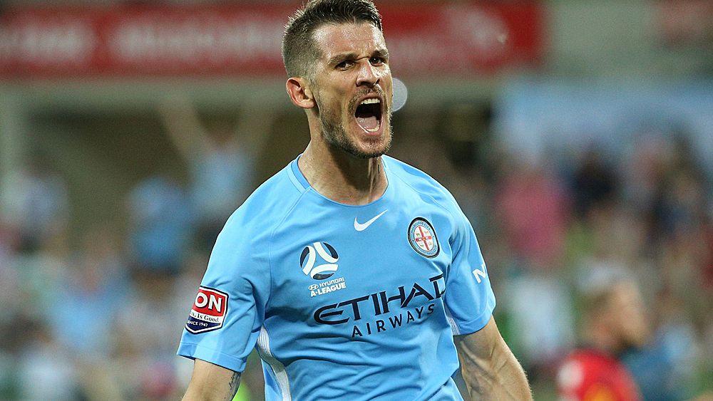 A-League: Dario Vidosic scores brace as Melbourne City smash Adelaide