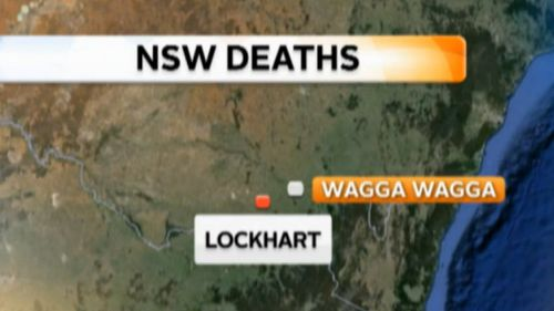 The deaths of three children and their mother took place on a property at Lockhart, near Wagga Wagga.