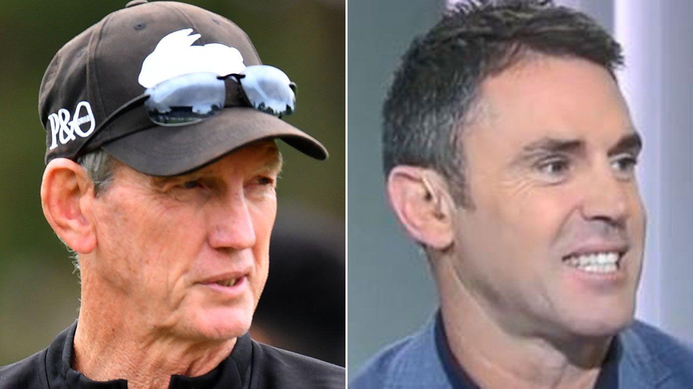 Blues coach Brad Fittler fires back at Wayne Bennett's NSW Origin halves crack