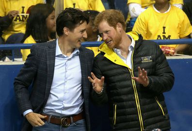 Justin Trudeau hints Canada may fund Harry and Meghan's royal transition