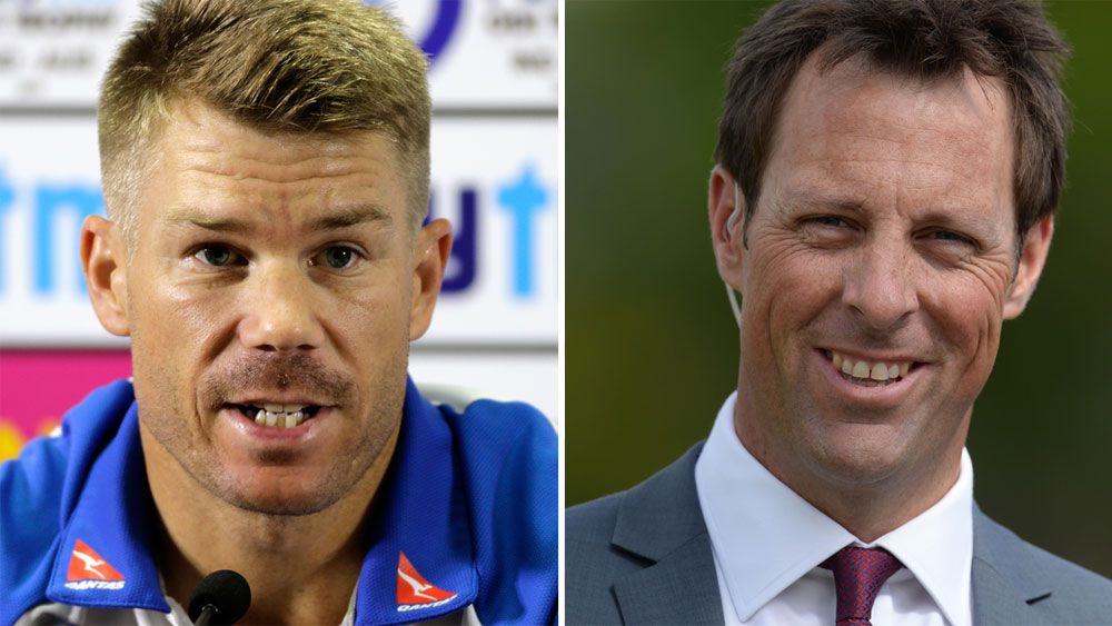 "Former England opener Marcus Trescothick brands David Warner ""pathetic"" for Ashes hatred comments"