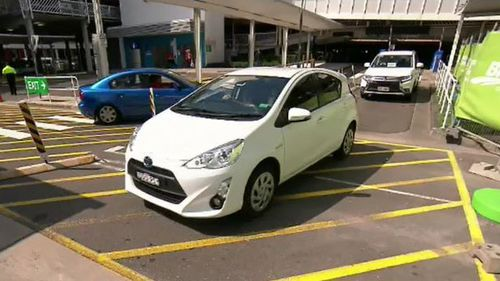 The ACCC has revealed the country's main airports are making millions from car park fees. (9NEWS)