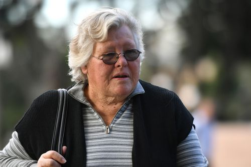 Ex-wife of Family Court bomber Leonard Warwick, Andrea Blanchard, has told the Supreme Court how her brother helped her confront him, before he died. Picture: AAP.