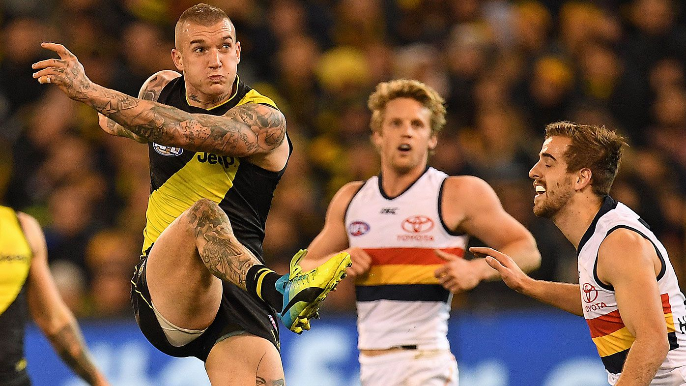 Depleted Tigers equal AFL's MCG win streak