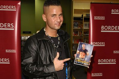 <b>Estimated 2010 earnings:</b> $3 million <br/><br/><P><b>How the hell they earned it:</b> He's the highest-paid 'star' of <i>Jersey Shore</i>, scores up to $50,000 per public appearance, has his own fragrance, workout DVDs, crap single, protein-infused vodka brand, and pimps Vitamin Water, supplements and Reebok.<br/>