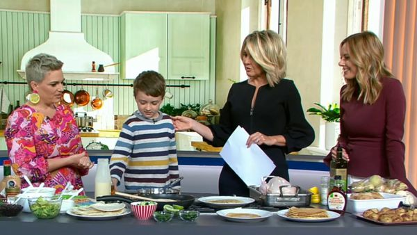 Cooking with kids in the school holidays