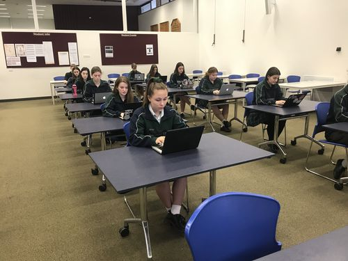 Thousands of students across SA will sit their final exams electronically, in an Australian first.