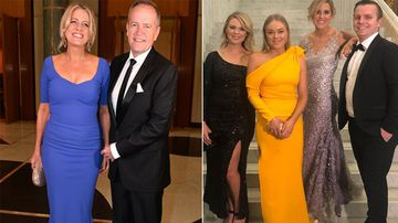 Pollies and journos frock up for Mid Winter Ball