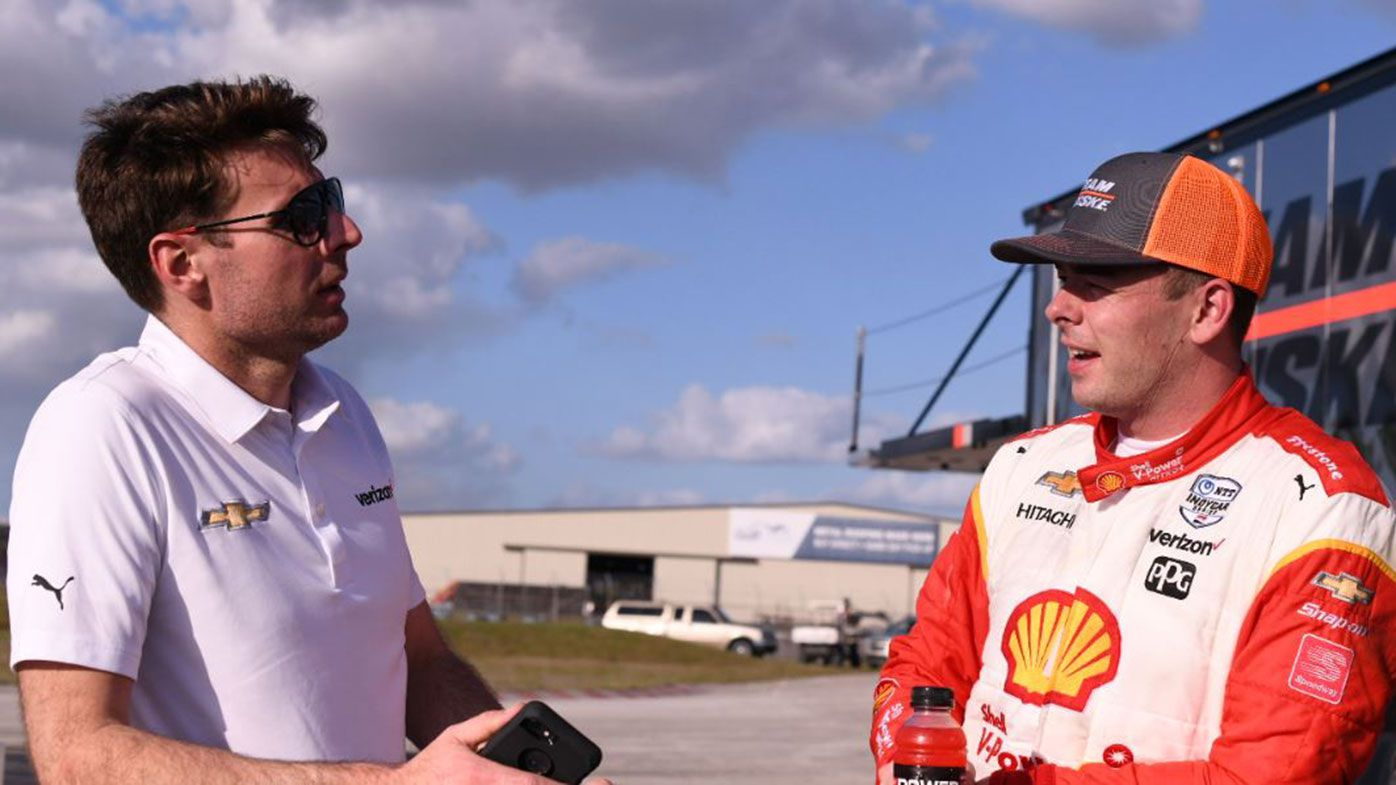 Will Power and Scott McLaughlin.