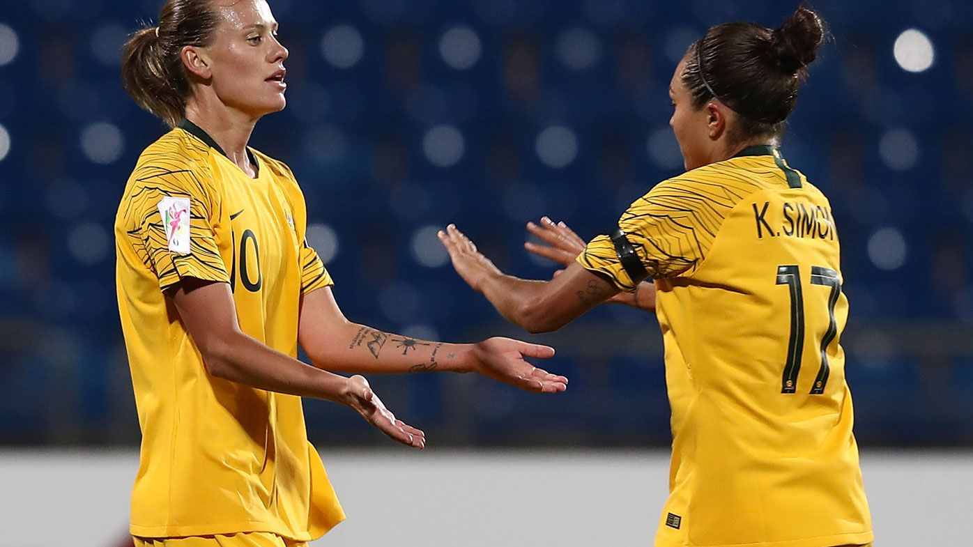 Matildas thrash Vietnam 8-0 in Asian Cup drubbing