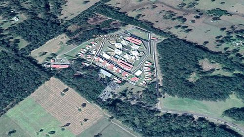 The Mid North Coast Correctional Centre where the inmate was found dead.