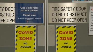 Westmead Hospital's COVID-19 ward.