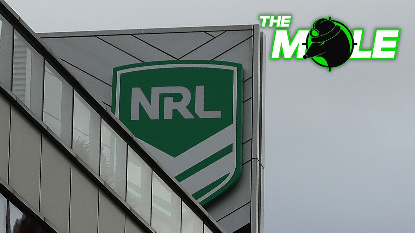The NRL is once again in damage control after a video of a player having sex in a public toilet went viral.