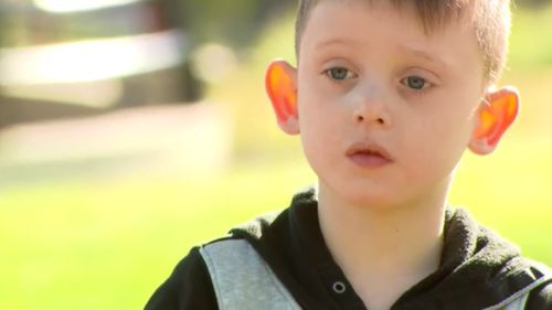 """Jacob said he escaped because he """"wanted to see his dad"""". (9NEWS)"""
