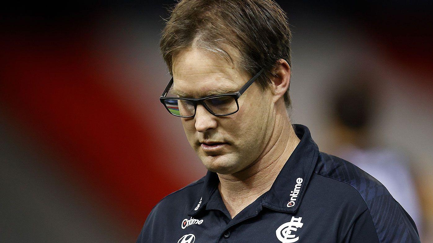 David Teague sacked as Carlton coach despite having a year to run on his contract