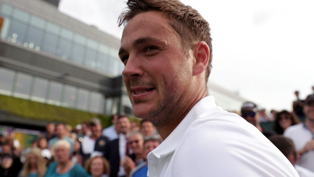 World No.772 Marcus Willis. (AAP)