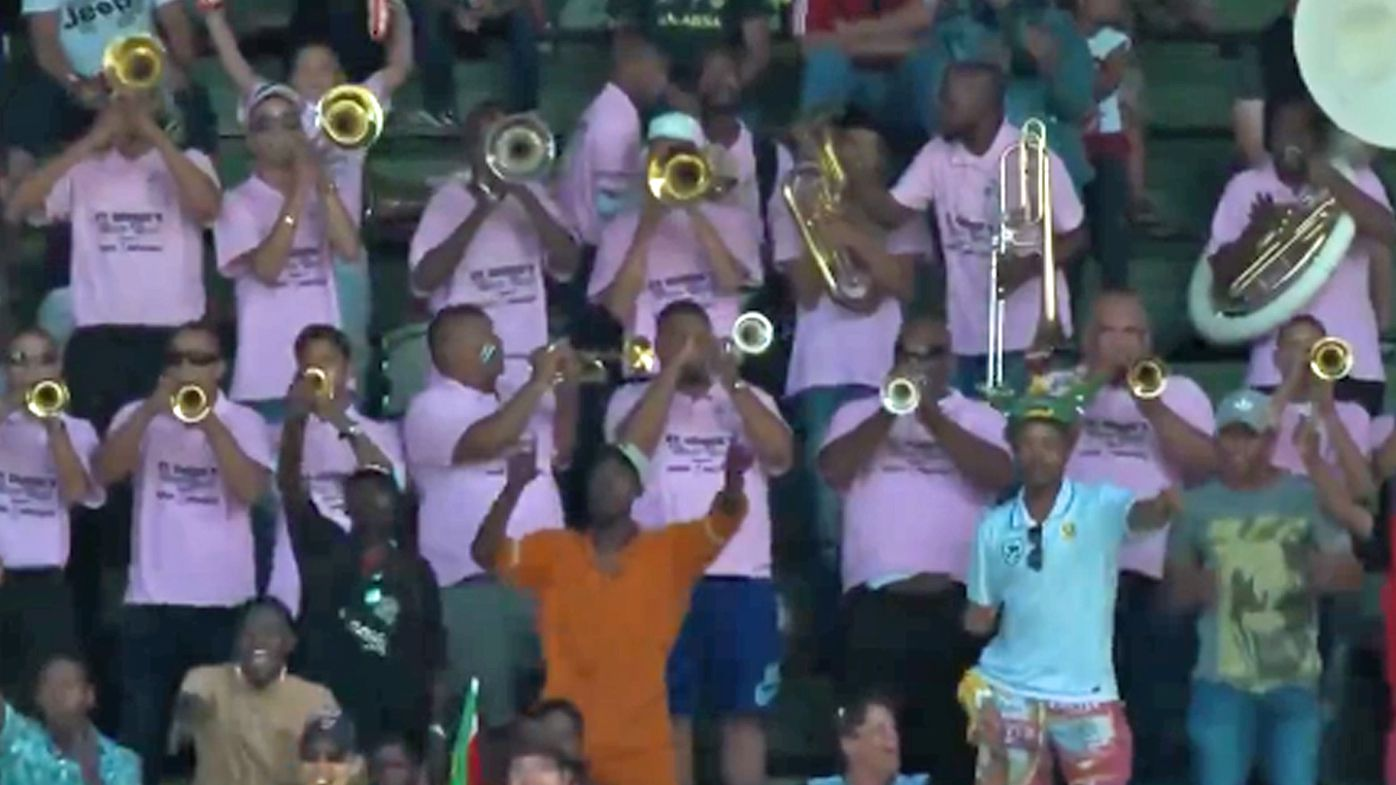 Cricket: Brass band causes delays in second Test between South Africa vs Australia