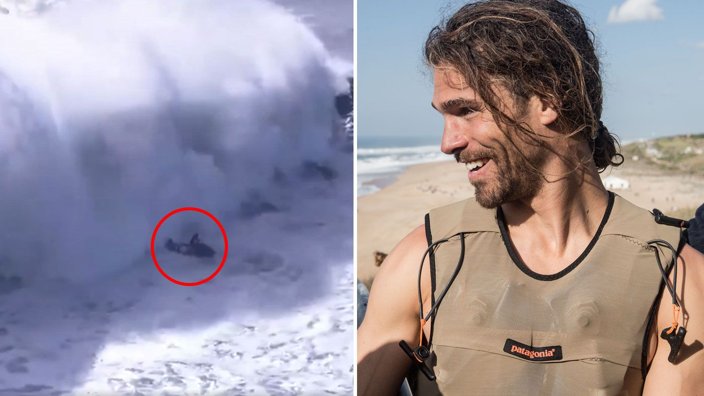 Alex Botlho rushed to hospital after Nazare incident