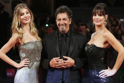 Camila Morrone, Al Pacino, Lucila Sola, Venice Film Festival, red carpet
