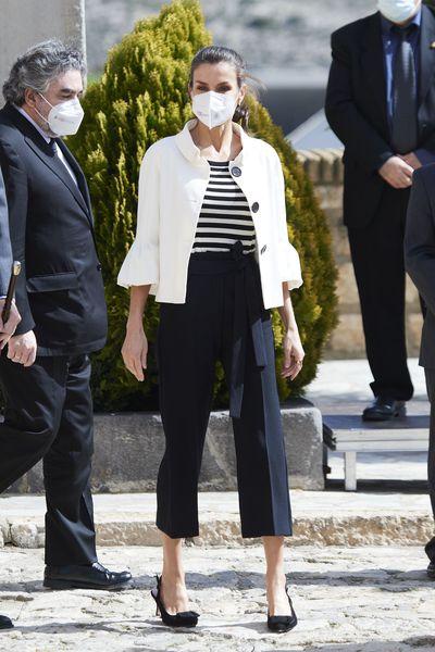 Queen Letizia returns to Spain, March 2021