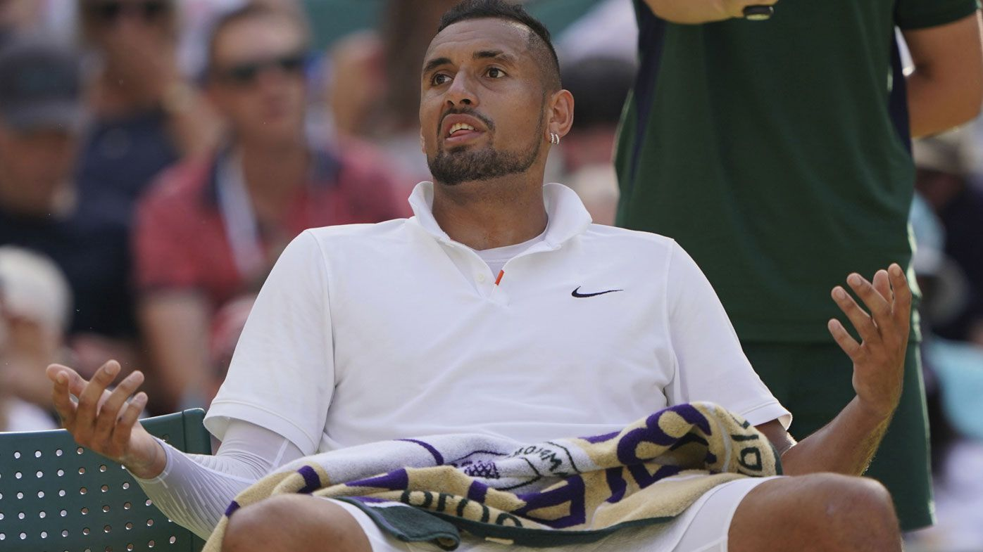 'This is awkward':  Kyrgios bumps into reporter he was partying with at the pub