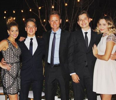 Candace Cameron Bure, daughter Natasha Bure, sons Lev and Maksim, husband Valeri Bure, Instagram, throwback photo