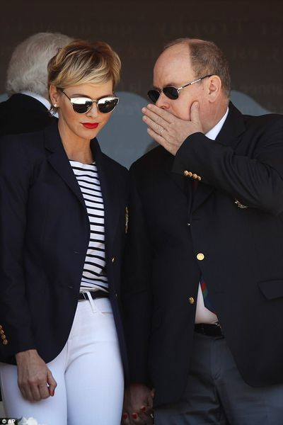 """<p>It's rare for <a href=""""https://style.nine.com.au/2017/08/01/12/20/cool-royals-to-watch"""" target=""""_blank"""">Princess Charlene of Monaco</a> to put a sartorial step wrong, and her latest outing  with husband Prince Albert was no different.</p> <p>The stylish royal showed off a new hairstyle as she attended the Monte Carlo Tennis Masters Tournament, rocking a side swept fringe in place of her usual swept back quiff. </p> <p>As always, the former Olympic swimmer and mum of two nailed her look, this time showing off her nautical side by pairing a striped top with white jeans, perfectly tailored navy blazer and mirrowed shades.</p> <p>It's no wonder the fashionista is often is compared to her elegant late mother-in-law Grace Kelly, usually dressed head-to-toe in one of her designer favourites; Ralph Lauren, Christian Dior, Akris or Armani, her timeless yet cutting-edge style cements her status as a royal fashion force.</p> <p>Take a look a look at Princess Charlene's biggest fashion moments.</p>"""