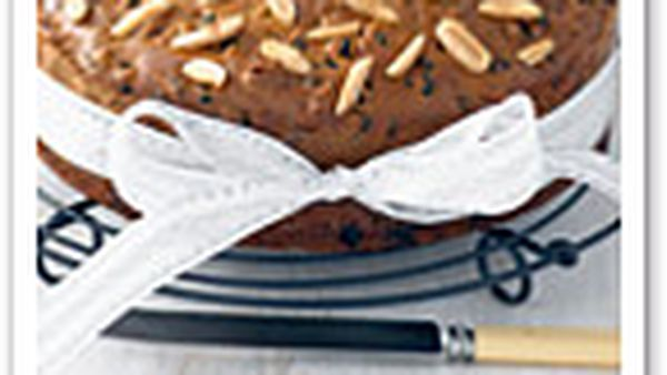 Butter-free fruitcake