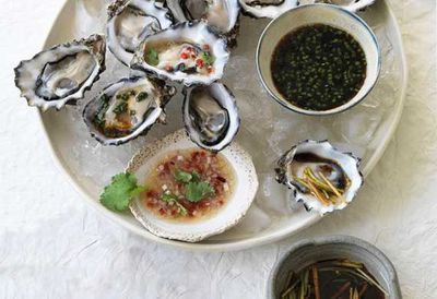 """<a href=""""http://kitchen.nine.com.au/2017/02/14/10/30/fifteen-minute-valentines-recipes-to-impress"""" target=""""_top"""">Oysters three ways</a><br /> <br /> <a href=""""http://kitchen.nine.com.au/2017/02/14/10/30/fifteen-minute-valentines-recipes-to-impress"""" target=""""_top"""">More 15 minute meals for two</a>"""