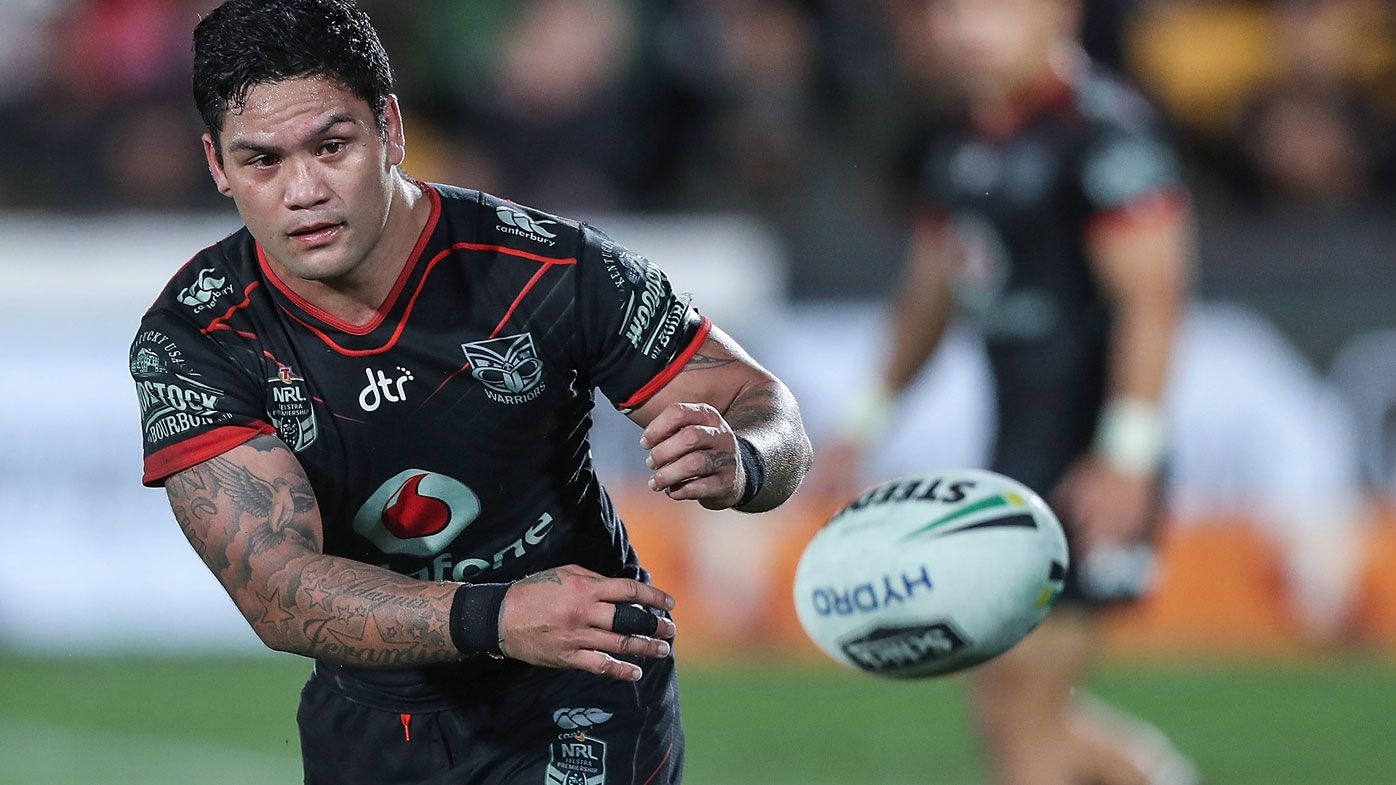Warriors hooker Issac Luke is not impressed with the NRL.