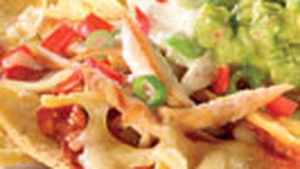 Chicken nachos
