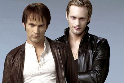 <B>The vampires:</B> In a world where vampires face prejudice yet must co-exist with humans, Bill Compton (Stephen Moyer) is a vampire who tries to retain his humanity without giving in to the beast within. And then there's centuries-old former Viking Eric Northman (Alexander Skarsgard), who's really really good-looking.<br/><br/><B>Scare factor:</B> Bill is a lover, not a fighter — he's more the lonesome brooding type than someone who would ever pick a fight.
