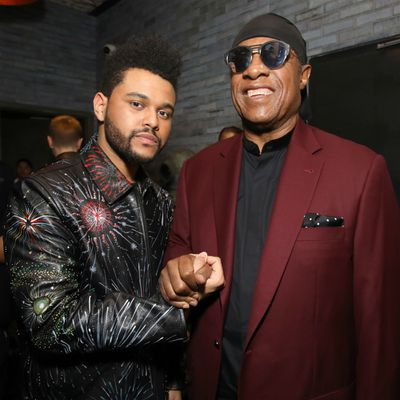 The Weeknd and Stevie Wonder