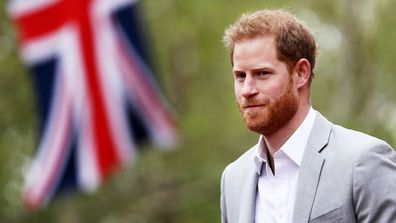 Prince Harry UK flag