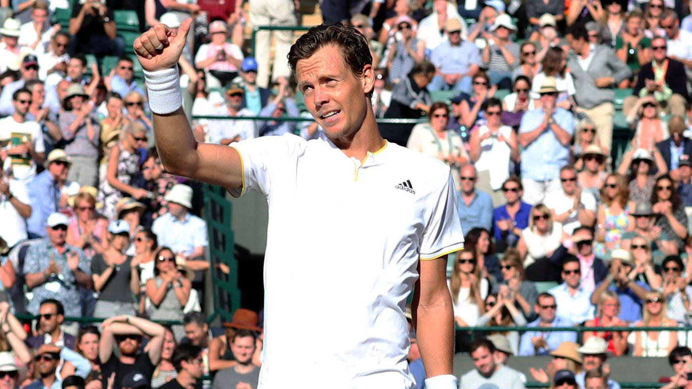 Berdych made the final at Wimbledon in 2010