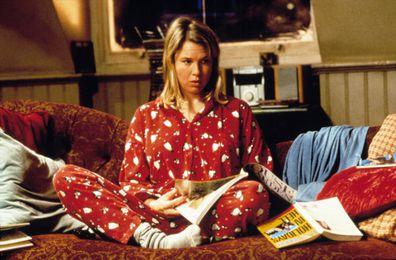 Christmas advent movies calendar,  Bridget Jones's Diary, Renée Zellweger