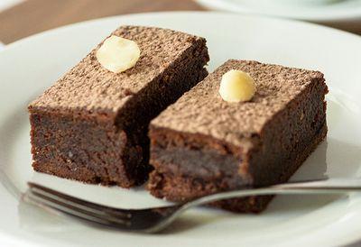 Chocolate Macabella brownies