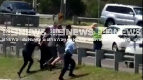 The men are expected to face a lengthy list of charges. (9NEWS)
