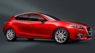 The Mazda 3 SP25 was rated the best value small car under $35,000, with the Hyundai i30 Active diesel coming second, and the Volkswagen Golf 92TSI wagon coming third. (Supplied)