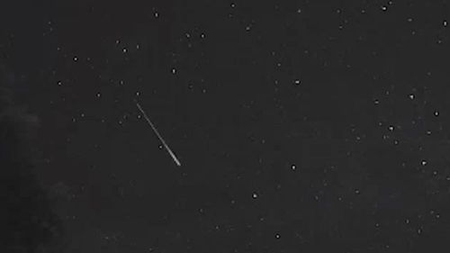 The meteor filmed above Canberra last night is just a taster of the Eta Aquariids meteor shower, which this year will be best viewed on the mornings of May 7 - May 9.