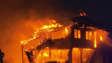Man survives house fire in Sydney's north-west