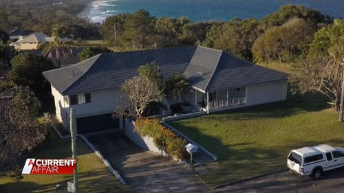 The home is in Sapphire Beach, near Coffs Harbour.