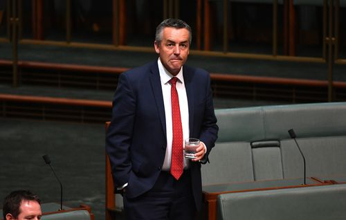 Former Minister Darren Chester is touted as a potential leader (AAP)