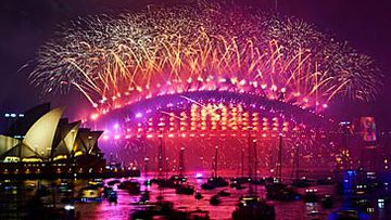 Sydney New Year's Eve 2018 fireworks (Getty)