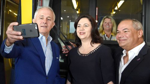 "Mrs Palaszczuk said Mr Turnbull was ""far more difficult"" to deal with than Mr Abbott. (AAP)"