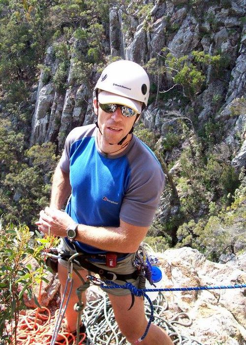 """The Australian Climbing Association of Queensland has remembered him online as """"an amazing person"""" and """"inspirational."""""""