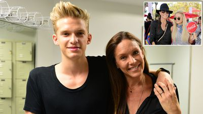 Angie Simpson, mother of pop star Cody and model/actress Alli Simpson