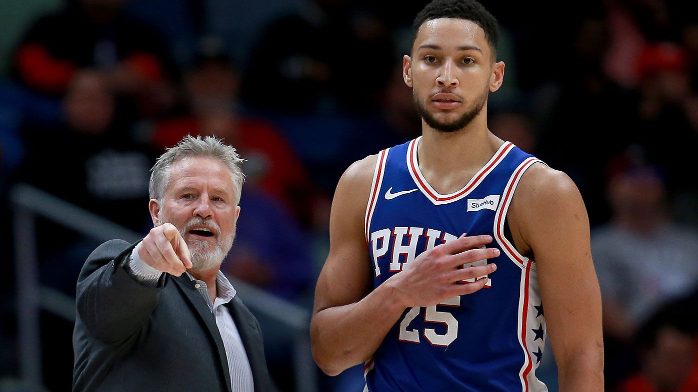Brett Brown Ben Simmons