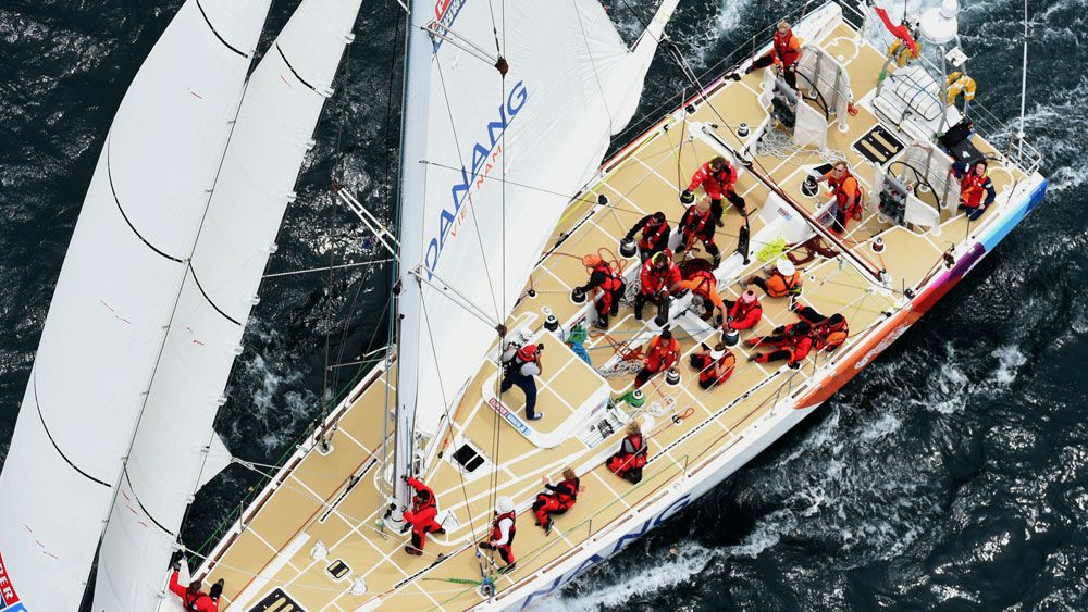 Boat withdraws after skipper injured
